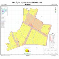 Bản đồ quy hoạch xã Long Phú – Huyện Tam Bình đến 2020